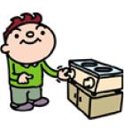 ガス器具修理