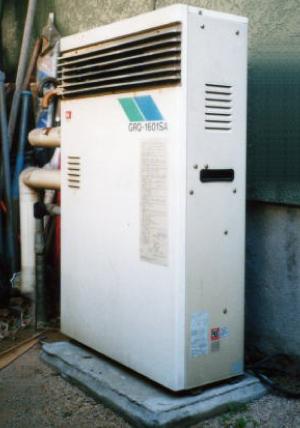 給湯器の取替 -戸建 ー