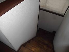 てすり取付(階段)